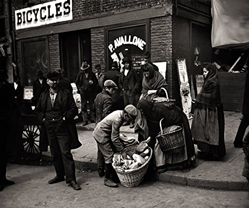 - Italian Bread Peddlers Mulberry Street New York City Early Rare Reproduction Vintage and Antique Art or Artwork Collection of Old Photos of Cities Like New York or New York City, Boston, Atlantic City, Chicago, Los Angeles, and Other Us Cities.some Colorized, Black and White, Photochromes Rare Pictures of Cities and Towns Across the Us a Old Time Photos to Digital Close to Original Size 8.5 Inches By 11 Inches for Scrap Booking Home Decor or Kitchen Decor. Or Gift Giving and History Research
