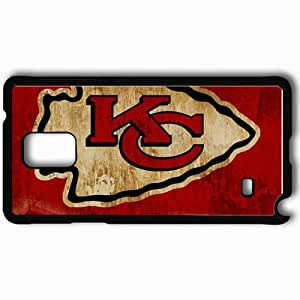 Personalized Samsung Note 4 Cell phone Case/Cover Skin 1672 kansas chiefs Black
