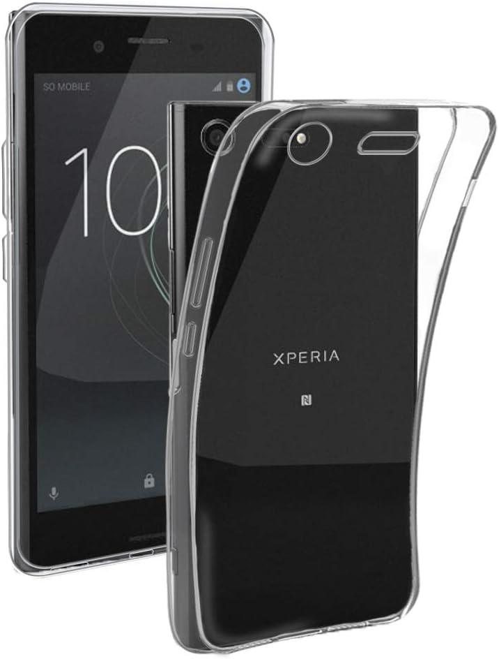 Electrónica Rey Funda Carcasa Gel Transparente para Sony Xperia XZ ...