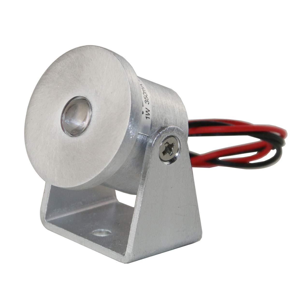 VBLED® 1W Mini Aufbaustrahler Rotier- & Schwenkbar 200° 80lm Dimmbar 3000K 12V