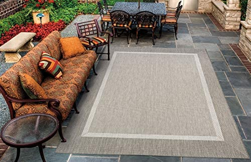 Couristan Recife Stria Texture Indoor/Outdoor Area Rug