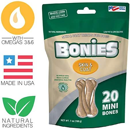 Bonies Skin Coat Health Multipack Mini 20 Bones 7 Oz