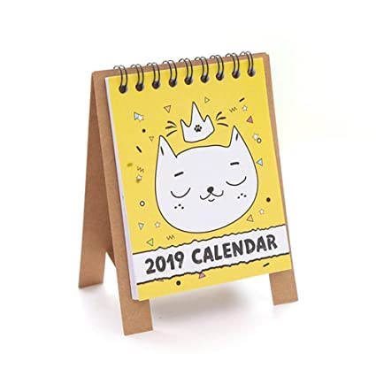 Marvelous Amazon Com Planner Calendars 2019 Cute Cartoon Animals Beutiful Home Inspiration Truamahrainfo