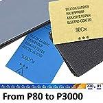 SR-Carta-vetrata-Abrasiva-Impermeabile-per-Legno-e-Metalli-60pz-Grana-80120-150180-240320-400600-8001000-12001500-20002500-3000