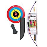 kids archery target - Bear Archery 1st Shot Youth Bow Set – Flo Purple