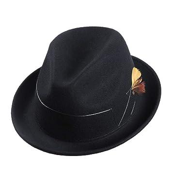 SHOPZZ Gorra De Jazz Sombrero De Moda para Hombres Sombrero De ...