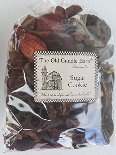 Old Candle Barn Sugar Cookie Potpourri Large Bag - Perfect for Fall and Winter Decoration or Bowl Filler