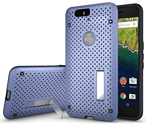 check out f88ff a48a6 NEXUS 6P CASE, NAKEDCELLPHONE'S NEW PERIWINKLE BLUE NET HEAT ...