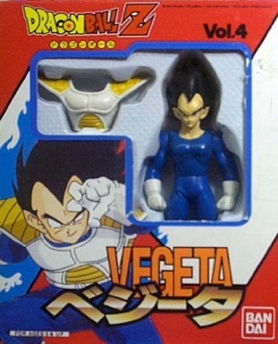 Super Battle Collection (Dragonball Z Bandai Japanese Super Battle Collection Action Figure Vol. 4 Vegeta)
