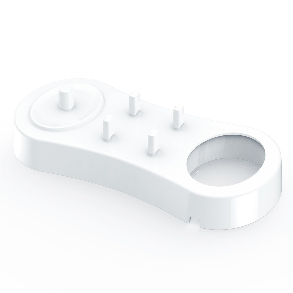 Titular de cepillo de dientes para cepillos de dientes eléctricos Oral-B  Poketech reposar durante 4 Cabezales de Cargador - Blanco 91148c53d511
