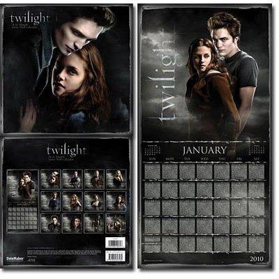 Twilight 12-month Calendar Year Jan 2010 to DEC 2010
