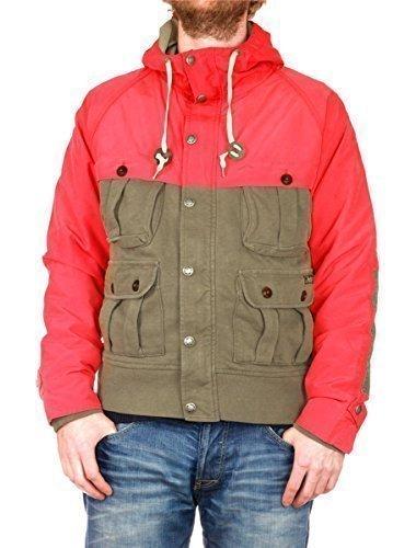 """Polo Ralph Lauren Hombre chaqueta con capucha """"Genuina Montaña Equipment"""" - algodón,"""