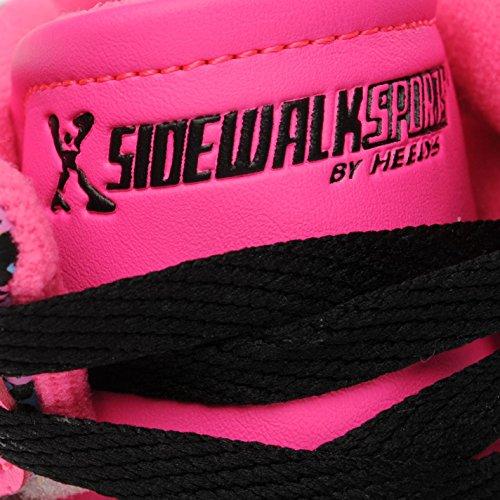 Sidewalk Sport Kinder Mädchen Hi Top Turnschuhe Mit Rollen Rosa