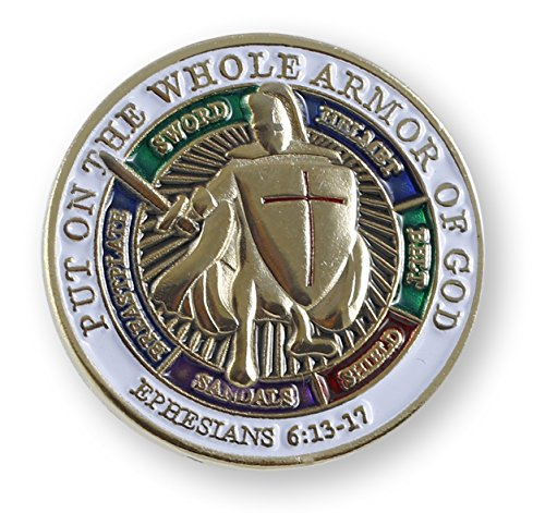Armor of God Lapel Pin (Value Pack) (1 Pin)