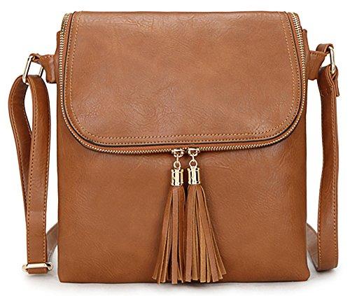 Taille Shop Sac Femme 5 À Handbag Main Pour M Design Big Tan Bandoulière TqR85HHw