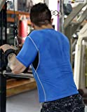 ADHEMAR-Mens-Short-Sleeve-T-Shirts-Athletic-Active-Tee-for-Running-Fitness-and-Workout-Blue-XXL