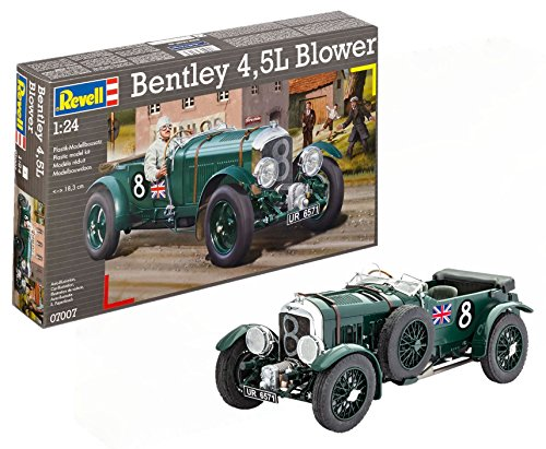 Revell- Maqueta Bentley 4,5L Blower, Kit Modelo, Escala 1:24 (07007)