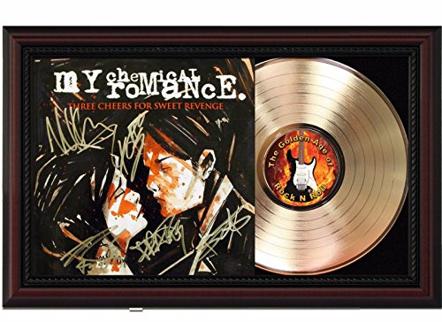 (My Chemical Romance Cherrywood Reproduction Signature Display M4)