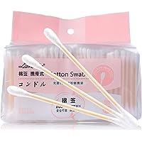 Cotton swabs wooden stick cotton ear buds (800pcs/Set) by AYFA