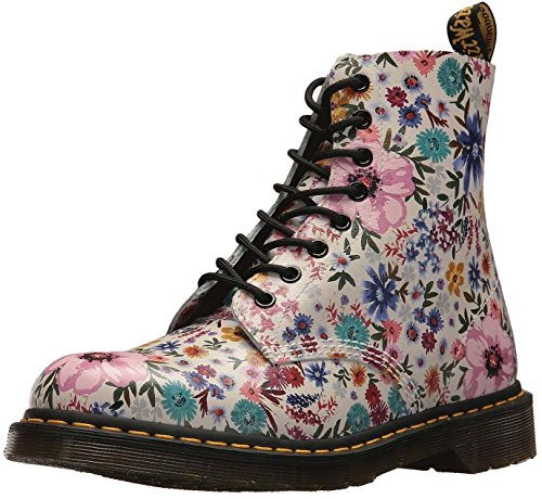 #Dr Martens 1460 Wanderlust Bone Floral Womens Leather Boots