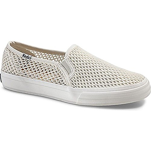 Decker Crochet Fashion Sneaker, Cream, 7.5 M US (Keds Lace Shoes)