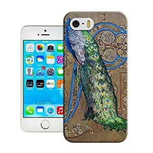 LarryToliver Customizable Peacock and Phoenix iphone 5/5s Hard Cover Case