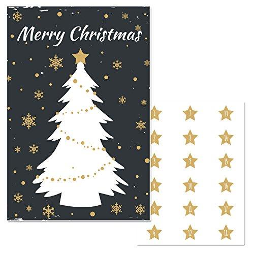 Amazon Com Christmas Tree Pin The Star Christmas Party Game Handmade