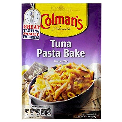 Colman's Tuna & Pasta Bake Recipe Mix (44g) - Pack of 6 (The Best Tuna Pasta Bake)