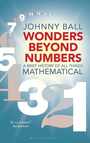 Book Cover: Wonders Beyond Numbers: A Brief History of All Things Mathematical