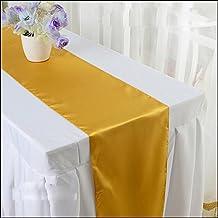 wholesale satin table runner for wedding decoration 30cmX274cm