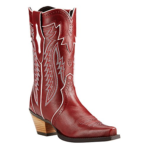 Ariat Womens Calamity New West Lipstick Red