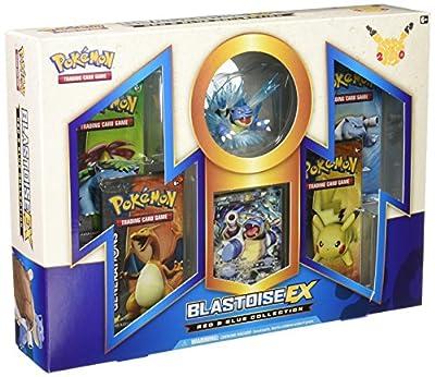 Collection Blastoise EX Box, Red/Blue