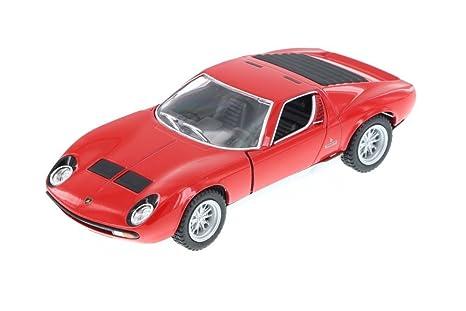 Buy Kinsmart Model Plastic Lamborghini Miura P400 Scale 1 34 Toy Car