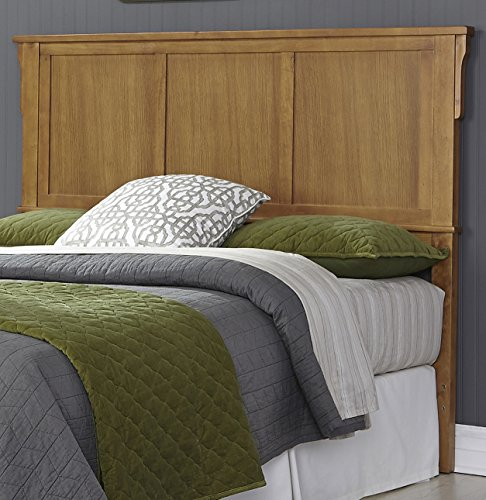 Mission Style Headboard - Home Styles 5180-511 Arts & Crafts Bed Headboard, Queen, Cottage Oak