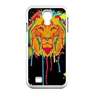 Samsung Galaxy S4 9500 Phone Case Cover White Cat Theory Lion EUA15982893 Hard Phone Cases Protective