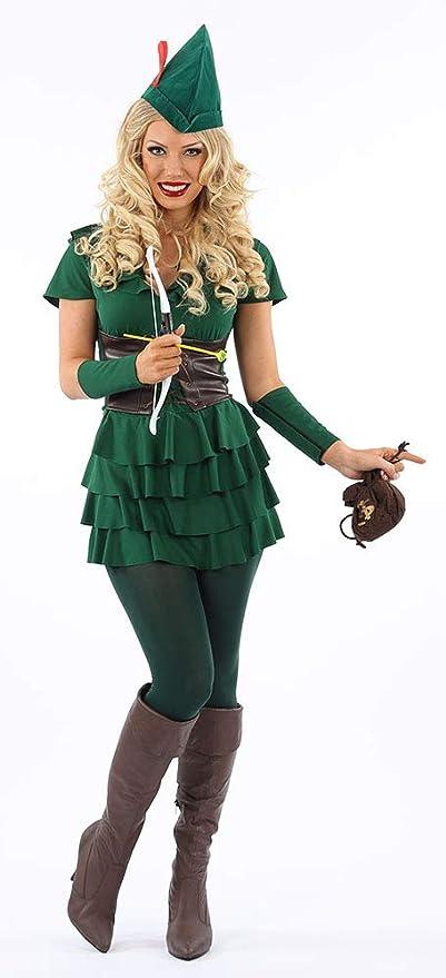 Classifed 4 Unidades. Disfraz de Peter Pan/Robin Hood: Amazon.es ...