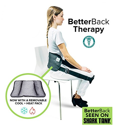 BetterBack Therapy (Posture Corrector, Hot/Cold Pack for Lower Back Pain + Sciatica Relief) (Care Eye Correcting)