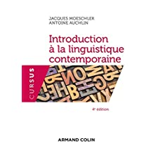 Introduction À la Linguistique Contemporaine (cursus) 4e Éd.