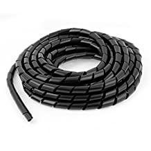 PC Cinema TV Cable Tidy Wrap Organizer Spiral Wrapping Band 12mm 6.5M