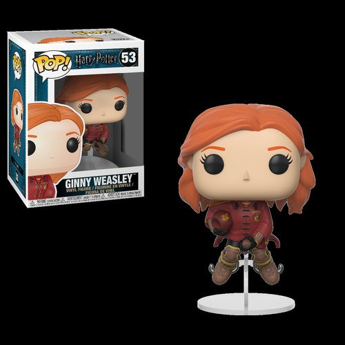 Funko Pop Movies: Harry Potter-Ginny on Broom Collectible Fi