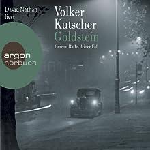 Goldstein (Gereon Rath 3) Hörbuch von Volker Kutscher Gesprochen von: David Nathan