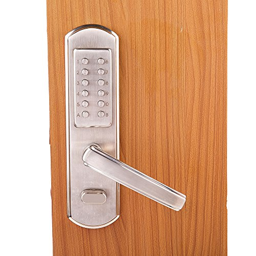 Bravex Full Size Mechanical Door Lock Keyless Entry