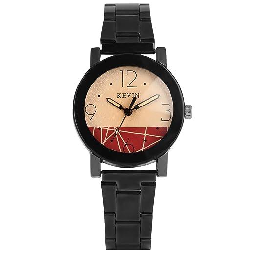 Reloj de Cuarzo para Mujer, Correa de Acero Inoxidable Reloj ...