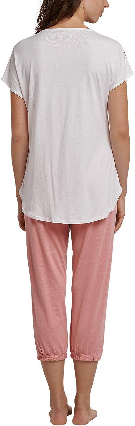 Schiesser 163083 Haut de pyjama /à manches longues pour femme