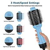 AIMA BEAUTY Hair Dryer Brush, 3-in-1 Upgrade Hot