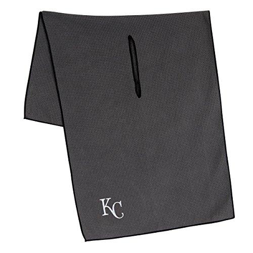 """Team Effort MLB Kansas City Royals 19"""" x 41"""" Grey Microfiber Towel19 x 41"""" Grey Microfiber Towel, NA"""