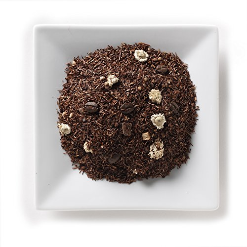 - Mahamosa Tiramisu Rooibos Tea 2 oz, Loose Rooibos Herbal Tea Blend (with chocolate, coffee, caramel, yogurt) (dessert tea)