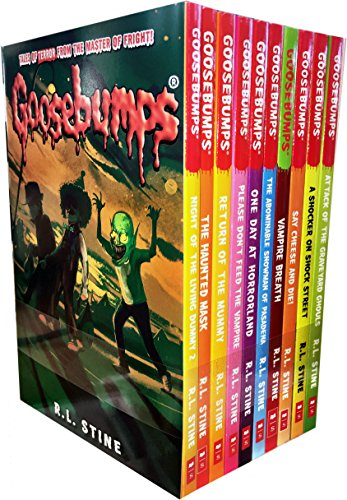 Box Set Collectors Tin - Goosebumps Classic (Series 1) - 10 Books Set Collection R.L. Stine