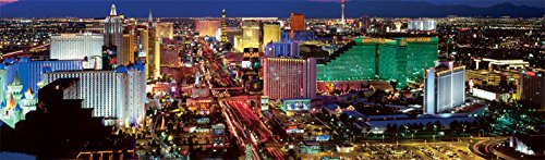 Buffalo Games Panoramic: Las Vegas - 750 Piece Jigsaw Puzzle by Buffalo Games