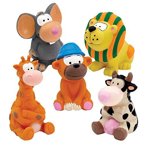 Zanies Latex Dog Toys Pre-Packs, 5 Medium ()